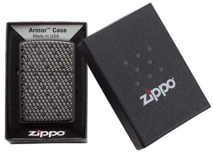 Бензиновая зажигалка Zippo Armor Black Ice