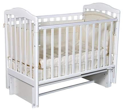 Кровать детская Антел Алита 3/5 а/с белый