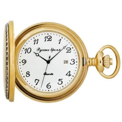 Карманные часы мужские Русское время 2774281 золотистые