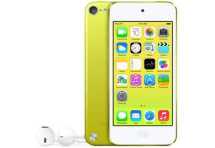 Apple iPod touch 64 ГБ желтый