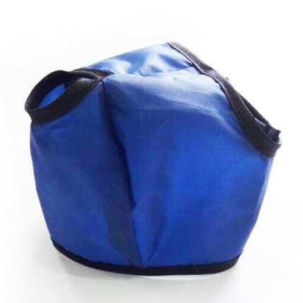 Намордник для кошек Тошка и Ко, нейлон, синий, L
