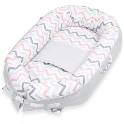 Кокон-гнездышко для новорожденных Little Vi Дерби арт. BN-0061