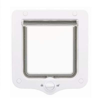 Дверца для кошки TRIXIE 2-Way, белая, 15,9х16,8 см