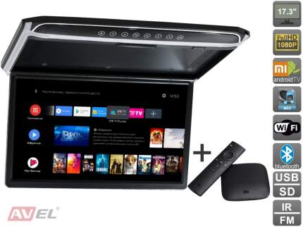 """Потолочный монитор 17,3"""" со встроенным Full HD медиаплеером AVIS Electronics AVS1707MPP"""