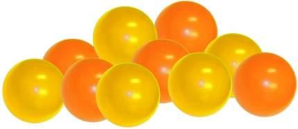Шарики для манежа-бассейна Leco диаметр 7,5 см смесь желтых и оранжевых, 320 шт.