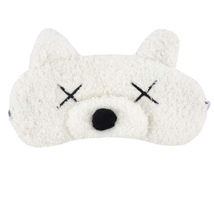 Маска для сна Kawaii Factory White bear