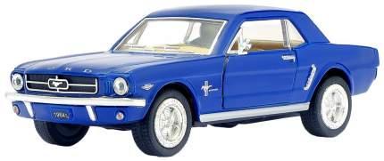 Машина металлическая Ford Mustang, масштаб 1:36, открываются двери, инерция Kinsmart