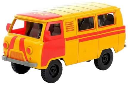 Машина инерционная Автоград Микроавтобус Газовая служба, №SL-02761G