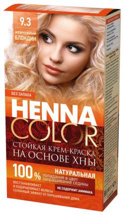 Краска для волос Фитокосметик Henna Color 9.3 Жемчужный блондин 115 мл
