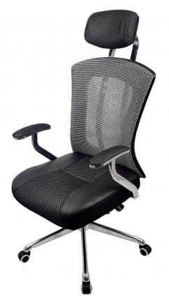 Офисное кресло Raybe KB-698 1051778, черный