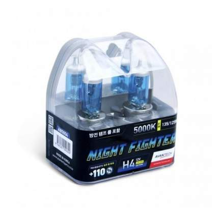 Лампа H4 12v 60/55w (135/125w) 5000k, 2 Ш AVANTECH арт. AB5004
