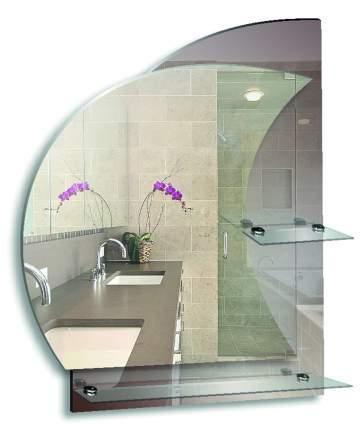 """Зеркало для ванной MIXLINE """"Флора"""" 535*685"""