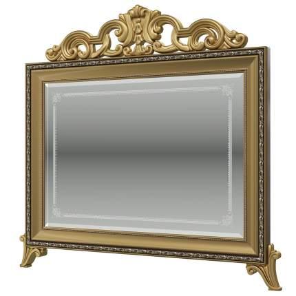 Зеркало с короной Мэри-Мебель Версаль СВ-08К, орех тайский, 97х6х99 см