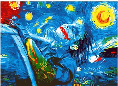 Картина по номерам Paintboy PKC 46003 Свобода Джокера 30*40 Эксклюзив