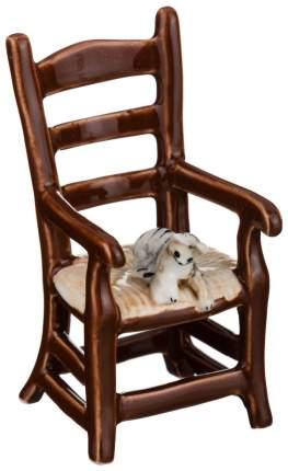 Статуэтка Lefard Кошки на стуле 101-477 Коричневый, белый