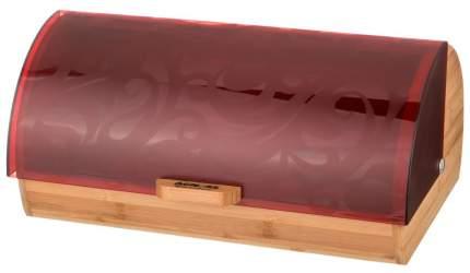 Хлебница Agness 938-033 Бордовый