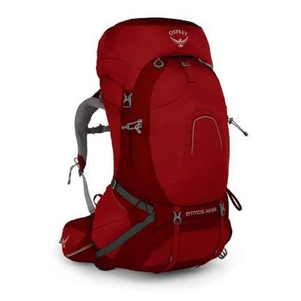 Туристический рюкзак Osprey Atmos AG L 65 л темно-красный