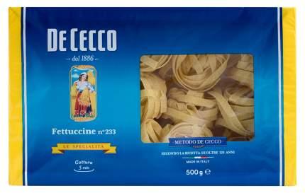 Лапша De Cecco феттучине гнезда 500 г