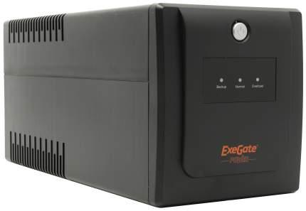 Источник бесперебойного питания Exegate Power Back UNB-1000 Черный