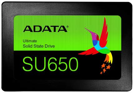 Внутренний SSD накопитель ADATA Ultimate SU650 120GB (ASU650SS-120GT-R)