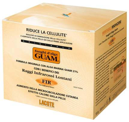 Маска для тела Guam Fir Aumento Della Microcircolazione Cutanea 500 мл