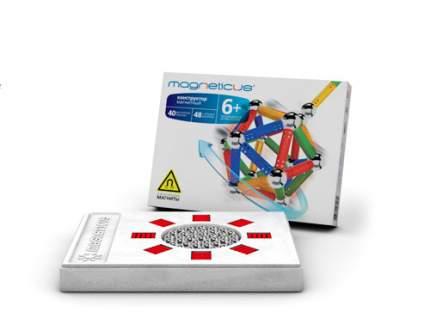Магнитный конструктор Magneticus, 88 элементов, разноцветный