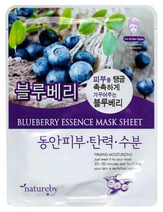 Маска для лица Natureby Blueberry Essence 23 мл