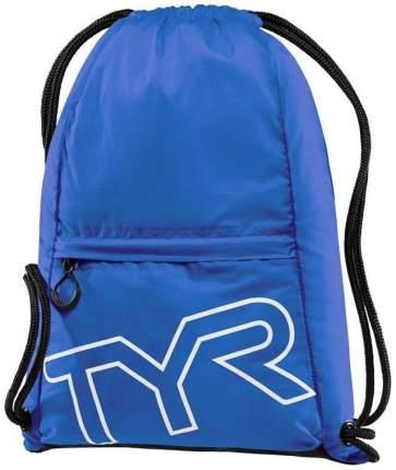 Рюкзак-мешок TYR Drawstring Backpack LPSO2 13 л синий/черный (428 Royal)