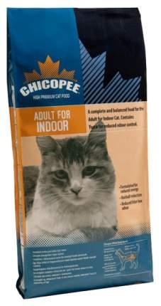 Сухой корм для кошек Chicopee Indoor, для домашних, курица, 0,4кг