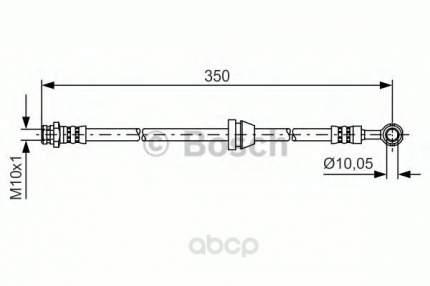 Тормозной шланг Bosch 1987481388
