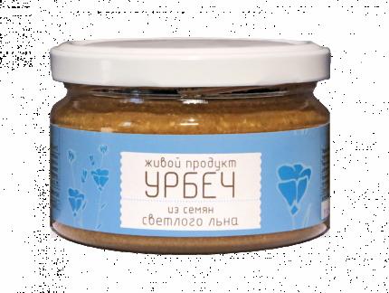 Урбеч Живой продукт из семян светлого льна 225 г