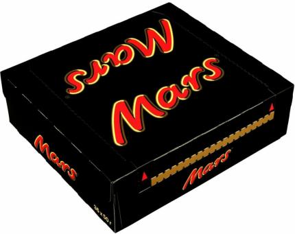 Батончик Mars шоколадный 50 г 36 штук