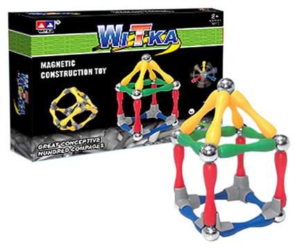 Магнитный конструктор WITKA 80 деталей арт. 934.
