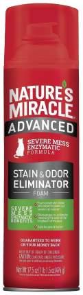 Нейтрализатор пятен и запаха Nature's Miracle ADV Cat Stain&Odor Eliminator Foam 518 мл