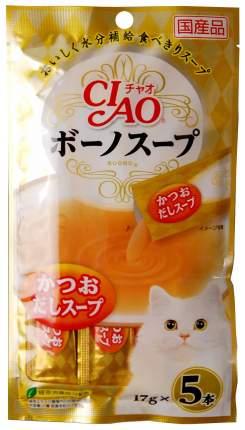Лакомство для кошек Premium Pet Japan наваристый бульон из японского тунца-бонито 85 г