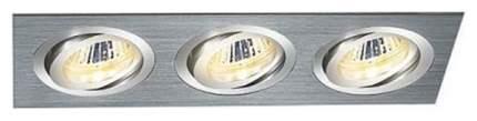 Встраиваемый светильник Elektrostandard 1011/3 MR16 CH Хром a029904
