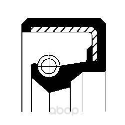 Сальник nbr 17х32х7 mb Corteco 12010809B