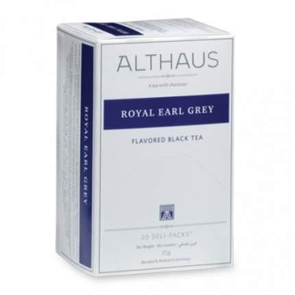 Чай черный Althaus royal earl grey 20 пакетиков