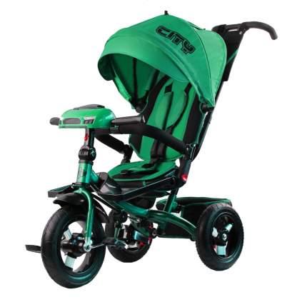 Велосипед CITY H5HG с музыкальной фарой зеленый