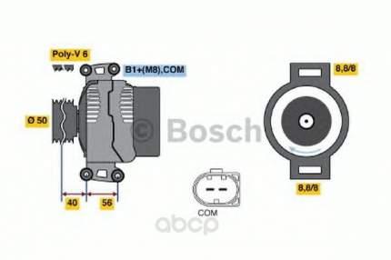 Генератор Bosch 0986047700