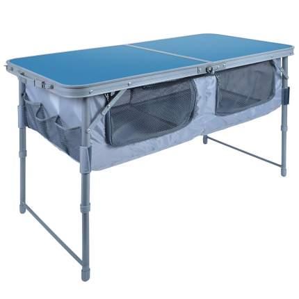 Стол складной 3П НИКА, ССТ-3П голубой