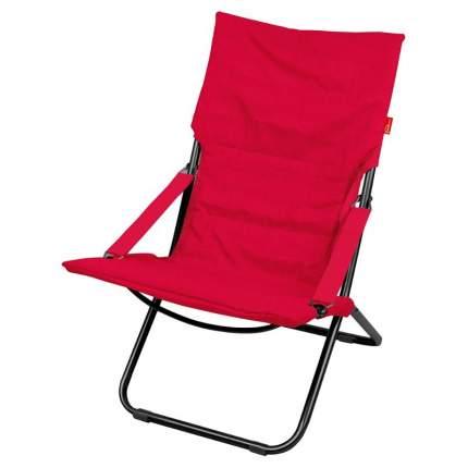 Кресло-шезлонг Nika Haushalt ННК4, цвет винный