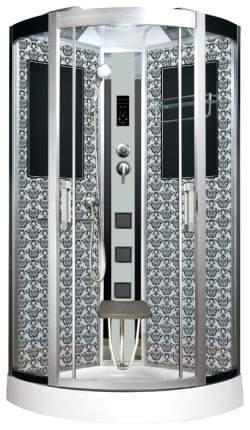 Душевая кабина Niagara Lux NG-7715W 90x90x215, белый с узором