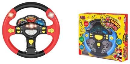 Детский руль PLAYSMART Я тоже рулю со световыми и звуковыми эффектами