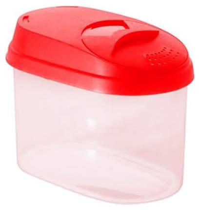 Банка для хранения Plastic Centre Пц3610 Прозрачный, красный