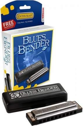 Губная гармоника диатоническая HOHNER Blues Bender F