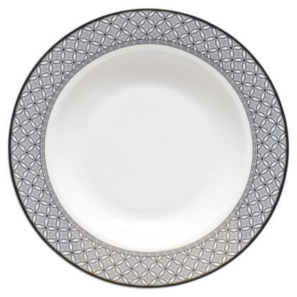 Тарелка Fioretta TDP092 Белый, черный