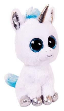Мягкая игрушка ABtoys Единорог, голубой, 14 см