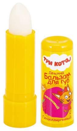 Детский бальзам для губ Три Кота Gk-113/1 Малиновый с маслом персика