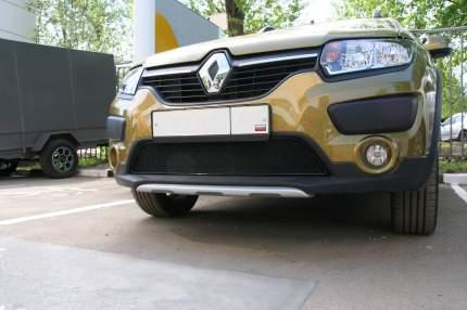 Сетка на бампер внешняя arbori для Toyota Сamry 2006-2009, хром, 20 мм сота